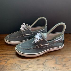 Sperry Top-Sider Halyard Navy Boat Shoes